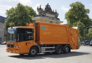Fahrzeug Stadtentsorgung Potsdam